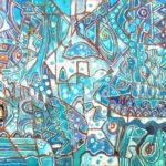 De lo Azul a lo Profundo - Capital del Arte - Artista: Carlos Humberto - Obras de excelente gusto conjugando diversos estilos, formas, corrientes.