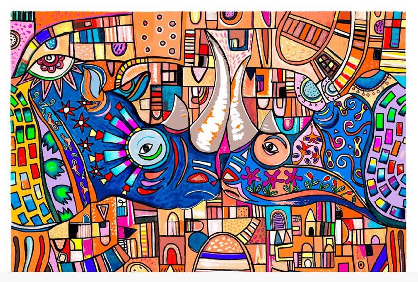 El Beso de los Rinos - Capital del Arte