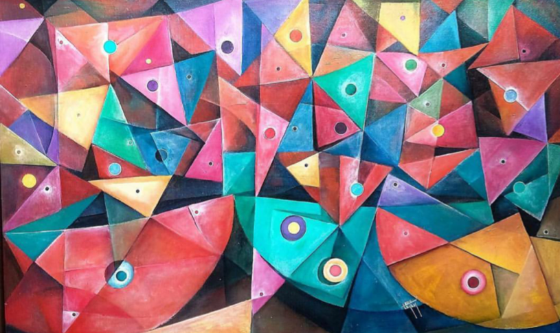Guelaguetza - Capital del Arte - Artista: Julián Lopez Tayán - Obras de excelente gusto conjugando diversos estilos, formas, corrientes.