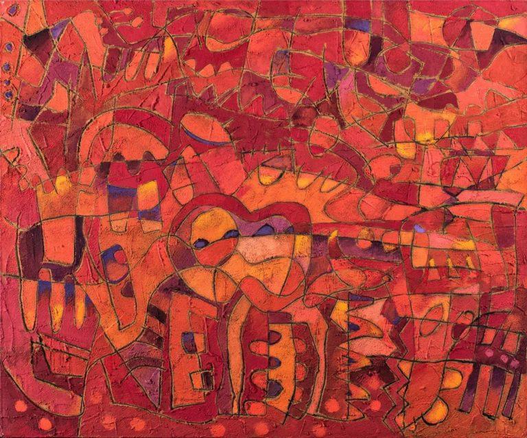 Interpuesto - Capital del Arte - Artista: Carlos Humberto - Obras de excelente gusto conjugando diversos estilos, formas, corrientes.