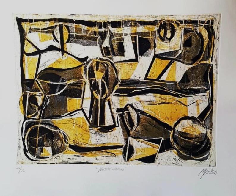 Paisaje Interno - Capital del Arte - Artista: Gabriel Macotela - Obras de excelente gusto conjugando diversos estilos, formas, corrientes.