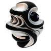 Mi Corazón Plata y Negro - Capital del Arte - Artista: Rodrigo Vargas - Obras de excelente gusto conjugando diversos estilos, formas, corrientes.