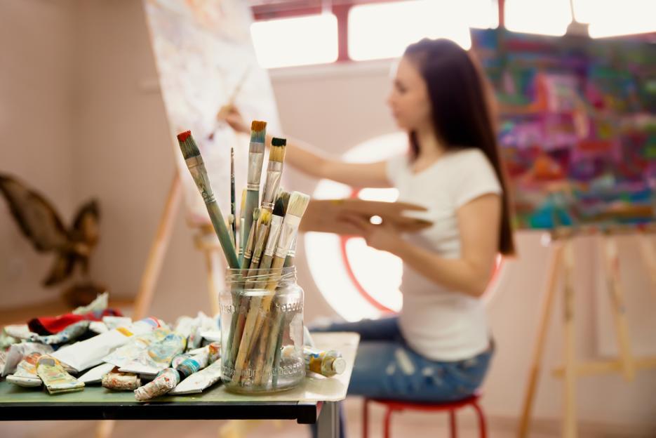 elementos básicos estudio de pintura - capital del arte