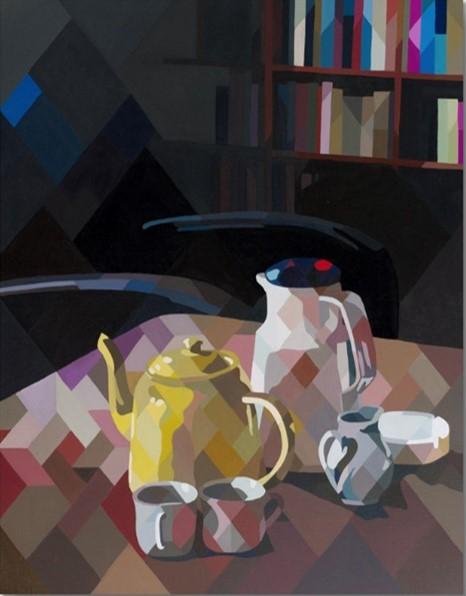 5 O Clock tea Yunuen Esparza-Capital Del Arte