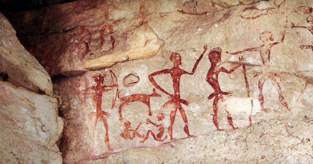 arte rupestre - capital del arte